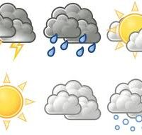 weather tracker icons